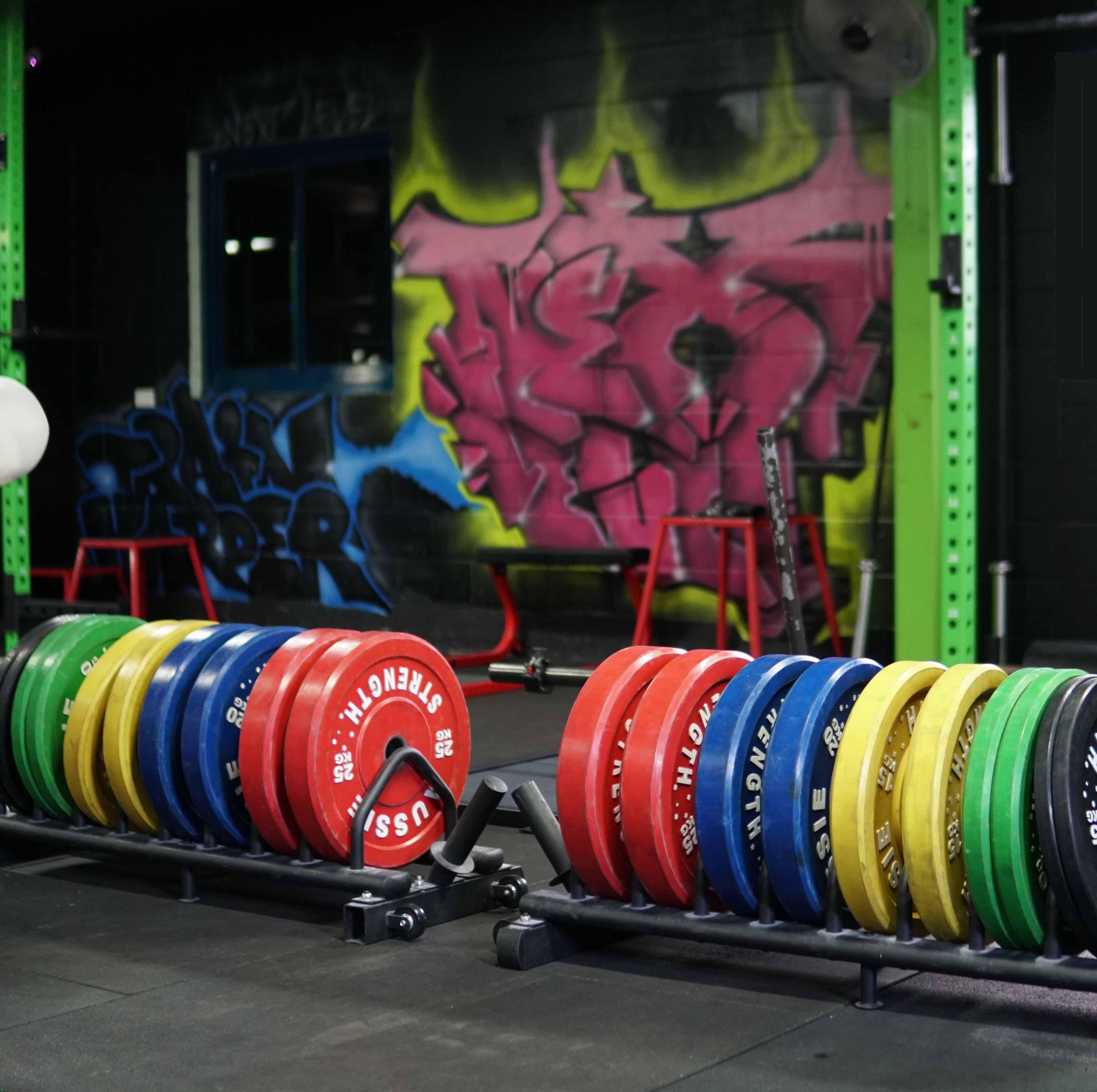 Power lifting room